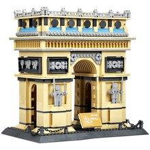 Wange 8021 Architecture PARIS ARC DE TRIOMPHE Series Building Blocks Educational Structure Bricks Collection Toys Children 5223