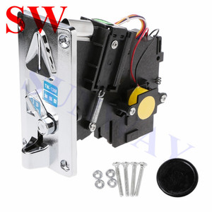 Image 1 - 1PCS factory price TW 130F Coin Accepter CPU Multi Coin Acceptors Comparison Coin Selector Side Coin Machine Selector