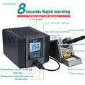 Оригинальный быстрый TS1200A свинцовая паяльная станция электрический утюг 120 Вт Антистатическая пайка 8 секунд быстрый нагрев сварки