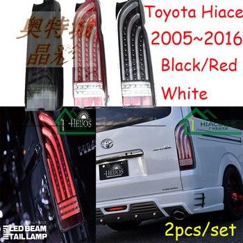 Автомобильные аксессуары, Hiace задний светильник, 2005 ~ 2016 Hiace Дневной светильник, Бесплатная доставка! Светодиодный, Hiace противотуманный свети