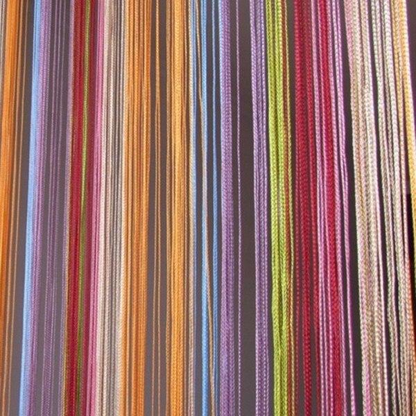 tienda online nueva cortina de la secuencia para la puerta ventana franja de la borla de cortina cortinas fringe panel separador de m
