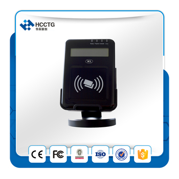 Three ISO 7816 Compliant SAM Slots Visual Vantage USB NFC Smart Card Reader with free SDK- ACR1222L