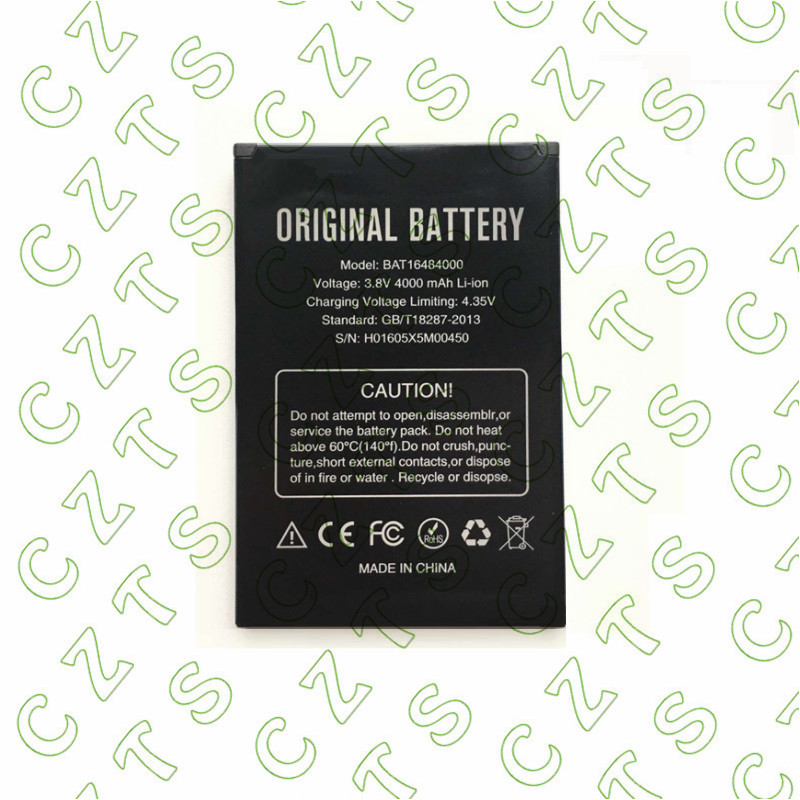 New BAT16484000 3.8V 4000mAh Battery for DOOGEE X5 MAX x5max Pro mobile phone +tracking code