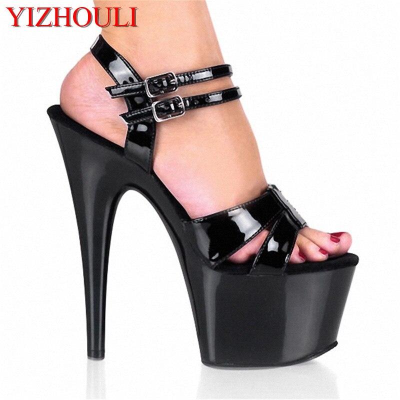 Paillettes Décoration Chaussure Stiletto ornement suspendu