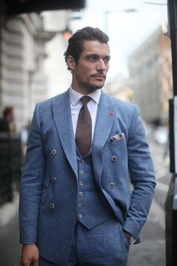 Mens Light Blue Suits Promotion-Shop for Promotional Mens Light ...