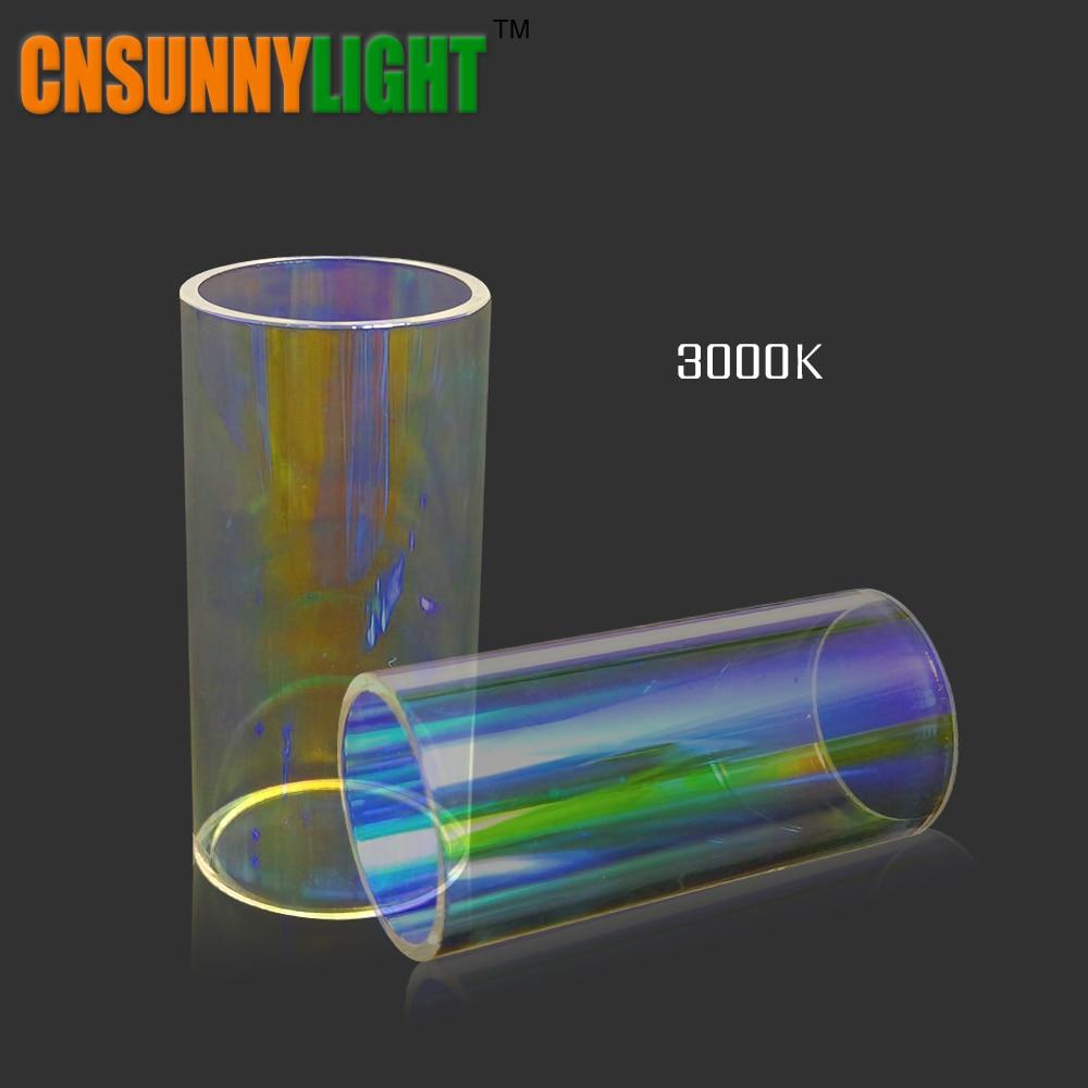 LED Voiture Ampoule En Verre Tubes Filtres 3000 K Jaune 4300 K Chaud blanc 8000 K Bleu DIY Couleurs pour Led Phare Kits dans Notre magasin