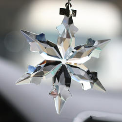 Автомобиль украшения красивые прозрачные снежинки кулон украшения салона Аксессуары Укладка
