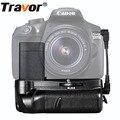 Travor pil yuvası tutucu canon 1100d 1200d 1300d için Rebel T3 T5 T6 EOS Öpücük X50 DSLR kamera çalışması ile LP-E10 Pil