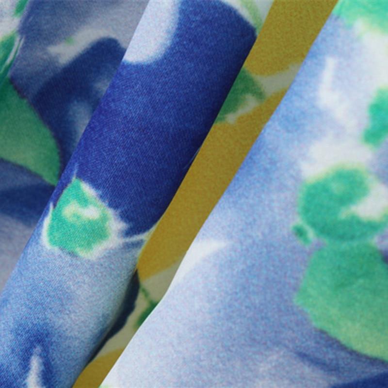 Primavera Otoño Vestido de niña Vestido floral Estampado de manga - Ropa de ninos - foto 6