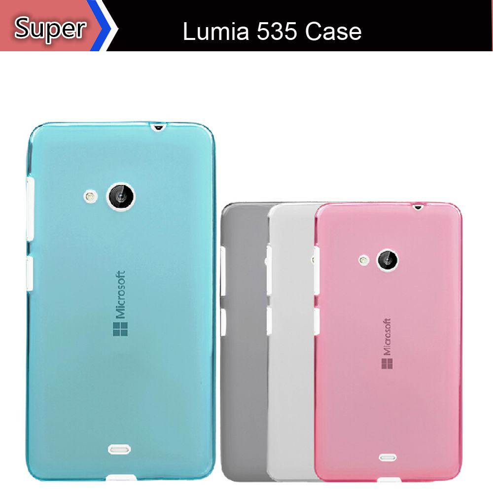best service 25e78 59d9f US $9.98 |Lumia 535 New Fashion Designs Clear Tpu Case Soft Gel Phone Back  Cover Cases For Nokia Lumia 535 Microsoft 1090 on Aliexpress.com | Alibaba  ...