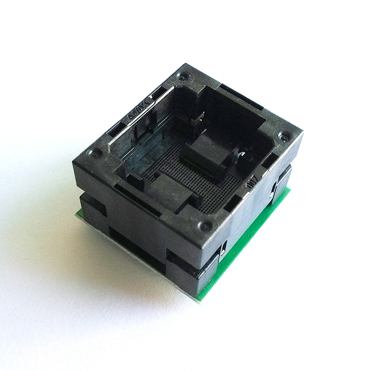 BGA132 BGA152 to DIP48 Adapter IC Test Socket BGA88 BGA136 Burn in Socket Programmer Socket Open Top Structure Test Seat цена