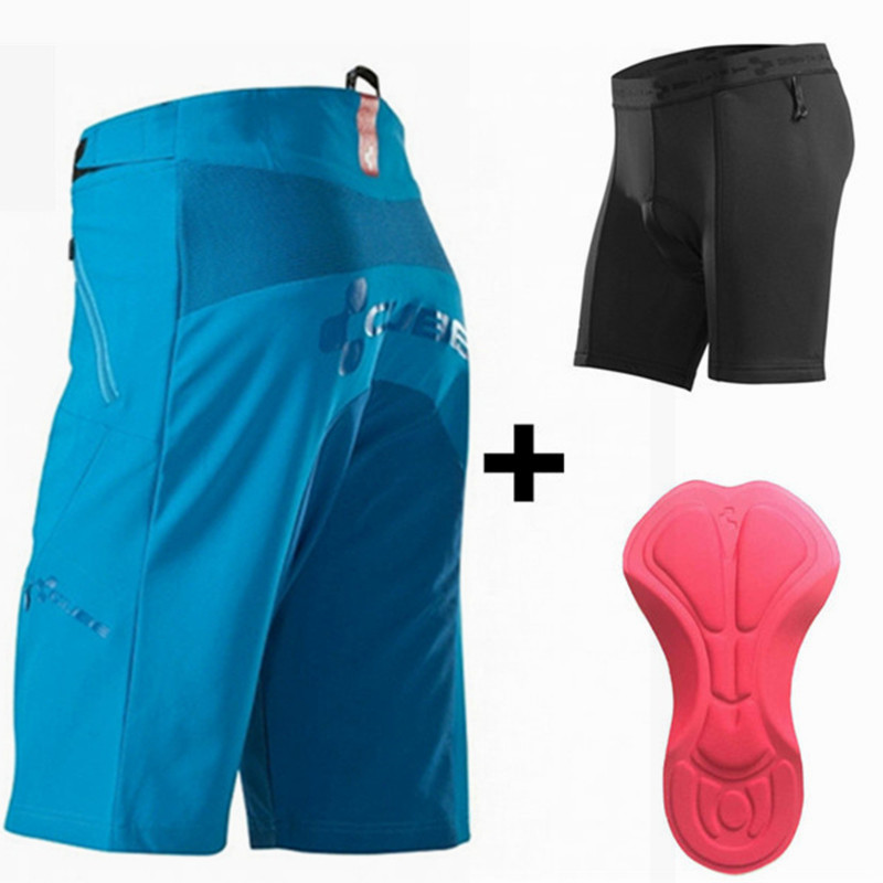 Цена за Saenshing Новый Куб Горные шорты cube велоспорт нижнее белье мтв шорты 3D мягкий Рок Гонки На Горных Велосипедах Шорты бермуды ciclismo