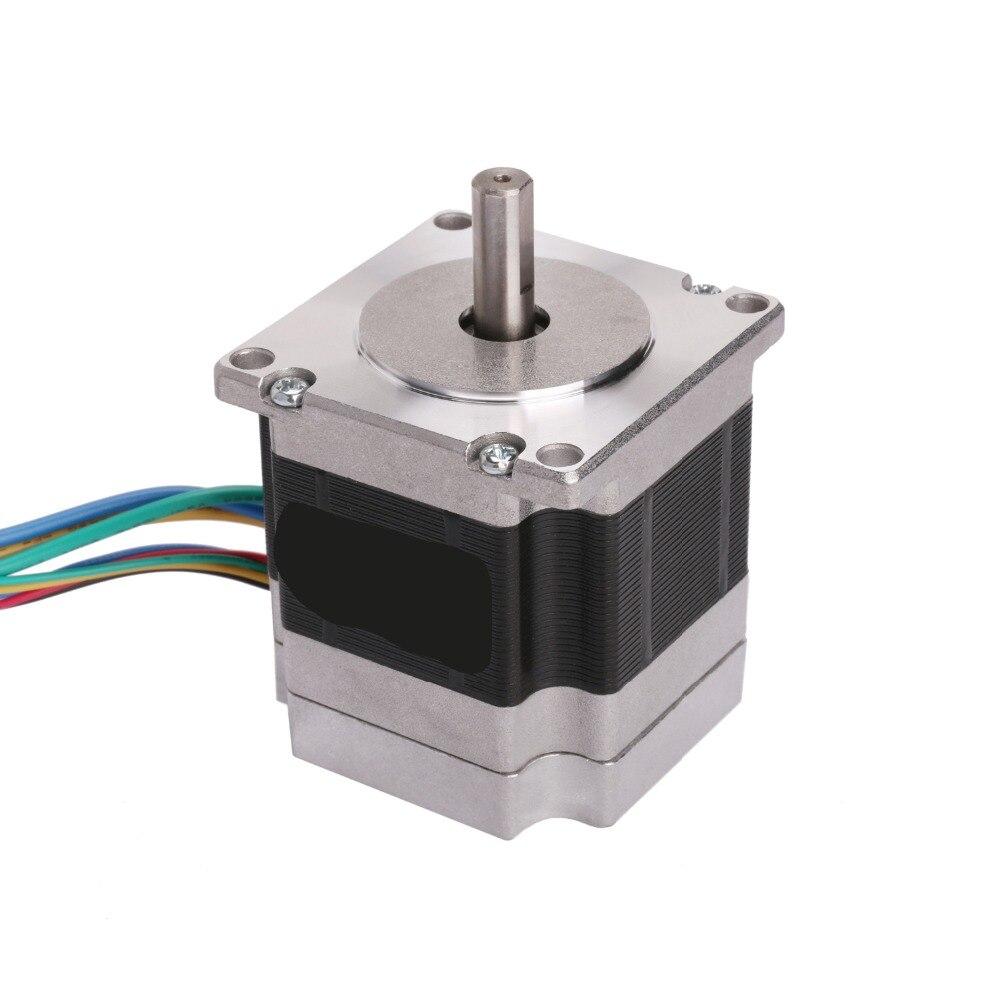 57BLF01 бесщеточный двигатель постоянного тока 63 Вт 24 в 3000 об/мин Nema 23 0.6N.m пик ЧПУ маршрутизатор LONGS мотор