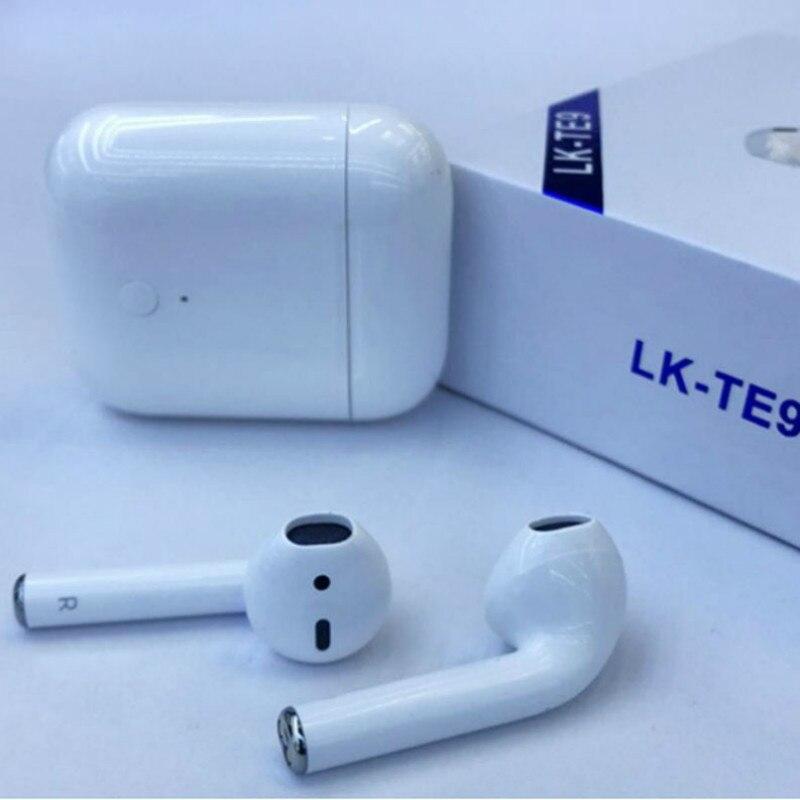 LK-TE9 LK TE9 tactile Type sans fil casque Bluetooth Binaural appels intelligents écouteurs sans fil charge Auto-Bluetooth 5.0