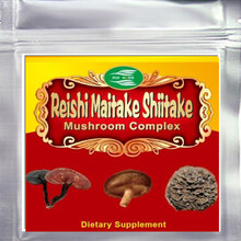 100gram (3.52oz) Mushroom Complex (Maitake+Reishi+Shiitake) 30% Polysaccharide Extract Powder