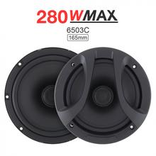 2pcs Car Speakers 6.5 Inch 280W 2 Way Coaxial speaker Auto Audio Music Stereo Full Range Frequency Hifi Speaker for cars