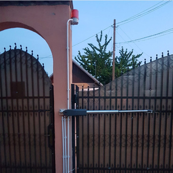 распашные ворота | Гало 300 кг на лист ворота открытого использования электрических распашных двигатель открывания ворот оператора с лампа для клавиатуры фото...