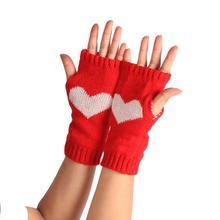 CharmDemon New Arrival Winter Wrist Arm Hand Warmer Knitted Long Fingerless Gloves Mitten or17