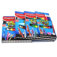MAPED DIY Graffiti Colored Pencils 12 24 36 48Colors Painting Colour Pencil Children S School Gift