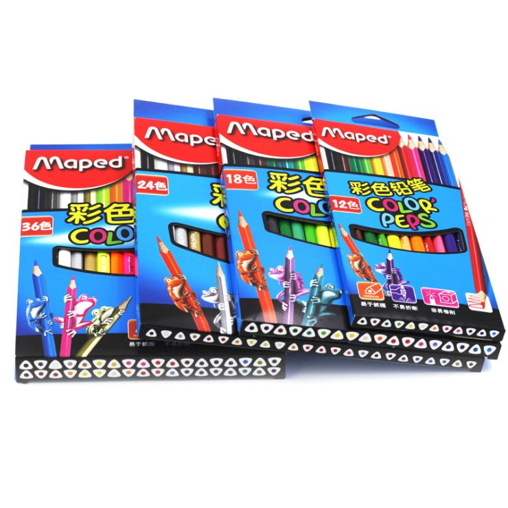 MAPED DIY Graffiti Colored Pencils 12/24/36/48Colors Painting Colour Pencil ChildrenS school Gift Cute Drawing Pencil For KidsMAPED DIY Graffiti Colored Pencils 12/24/36/48Colors Painting Colour Pencil ChildrenS school Gift Cute Drawing Pencil For Kids