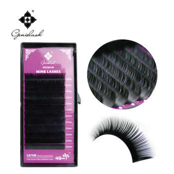 Genie All Sizes 8-15Mixed Lengths 0.05-0.25 Thickness 100% Handemade Super Soft Eyelashes Extension Individual - DISCOUNT ITEM  19% OFF All Category