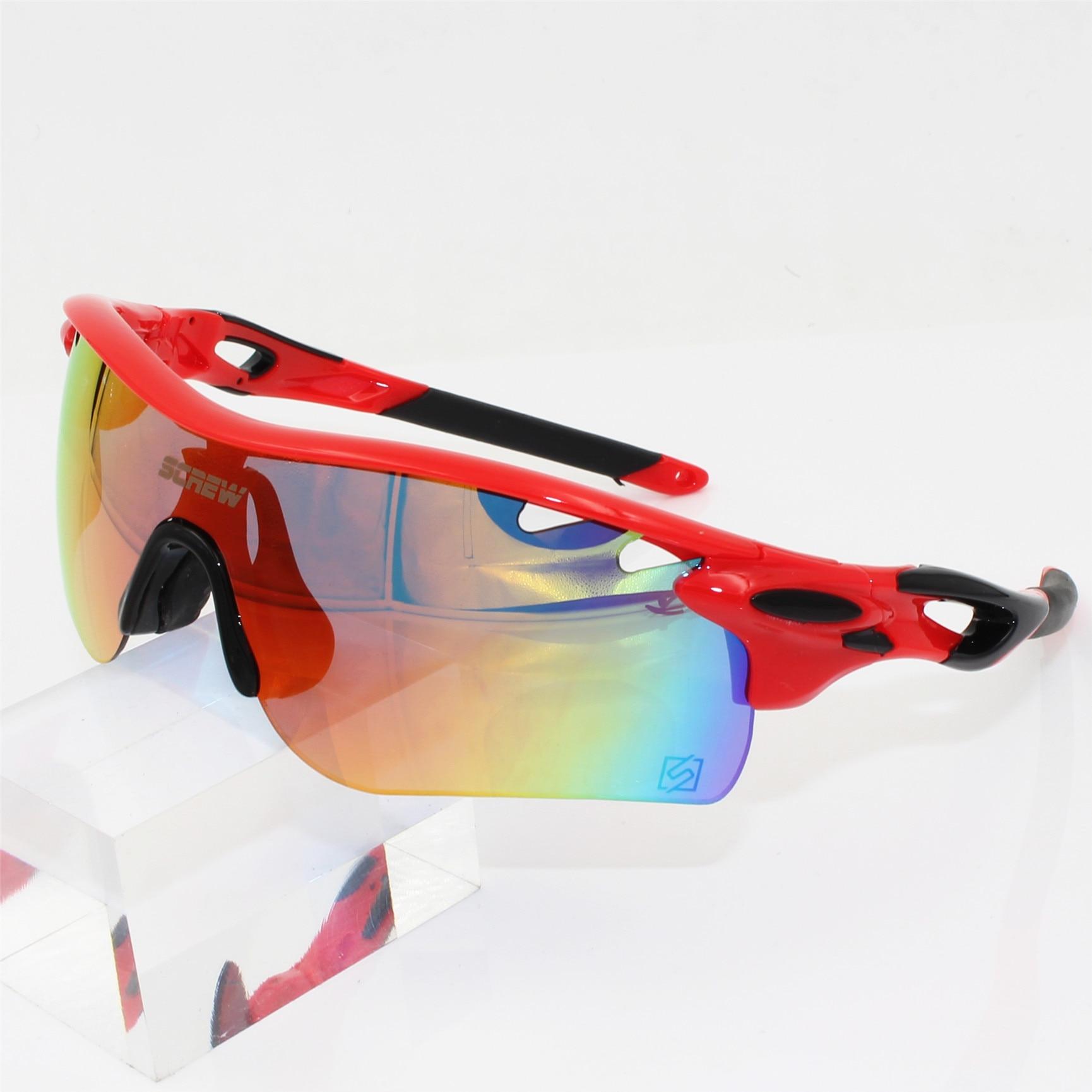 2017 venta hombre polarizado Gafas de Ciclismo bicicleta deporte Gafas de  sol 5 lentes Oculos Bike Gafas Ciclismo MTB e081925b62