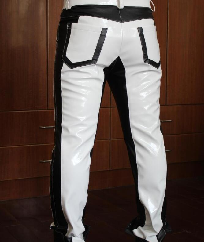 New Fashion Personality leather pants 1