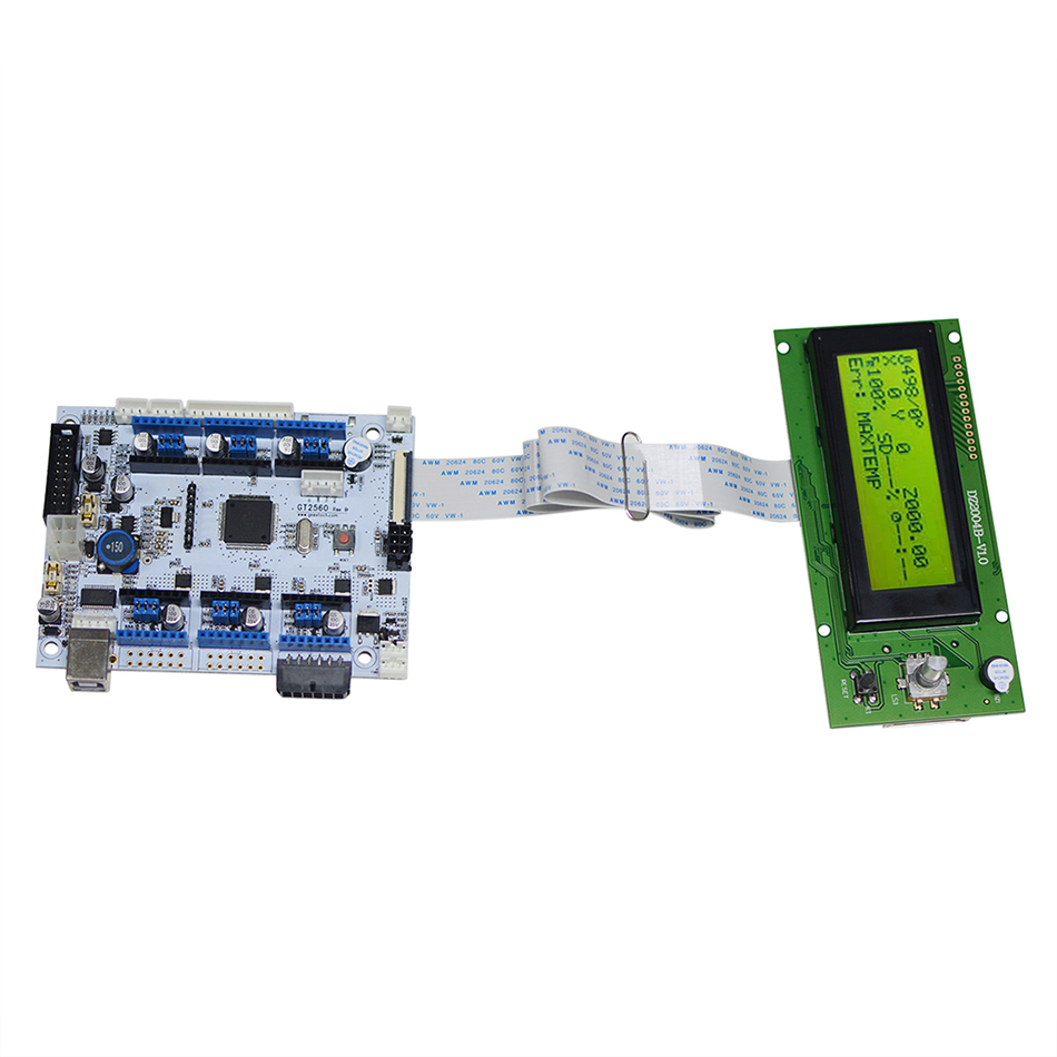 Geeetech GT2560-ReV-B & LCD 2004 KitiGeeetech GT2560-ReV-B & LCD 2004 Kiti