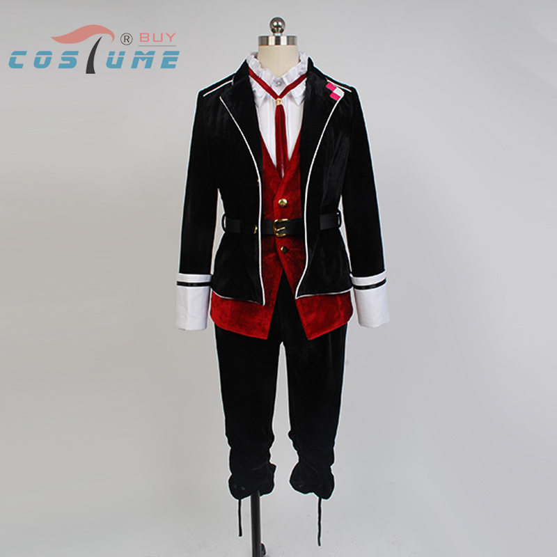 Anime DIABOLIK LOVERS Kanato Sakamaki Cosplay Costume Halloween Costume
