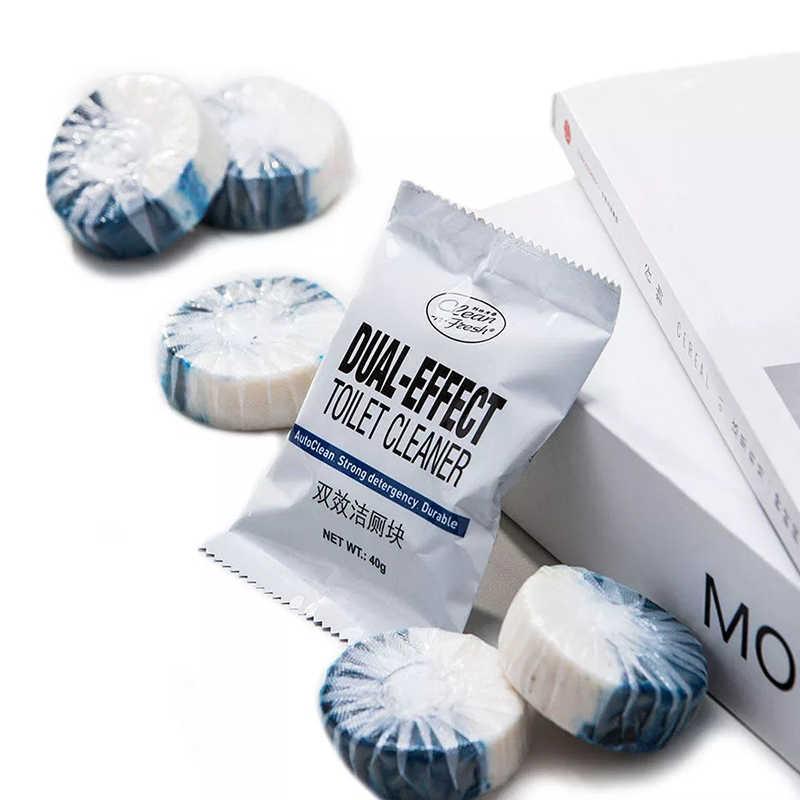 Xiaomi clean-n-fresh automático flush azul bolha toalete cleaner desodorização limpeza doméstica para banheiro banheiro mais limpo