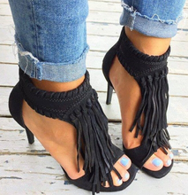 Summer High heels Vintage Female Sandals