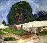 Copia Aasgaard pinturas de artista famosa Noche de Verano Playa de Edvard Munch ilustraciones de Alta Calidad Hecha A Mano