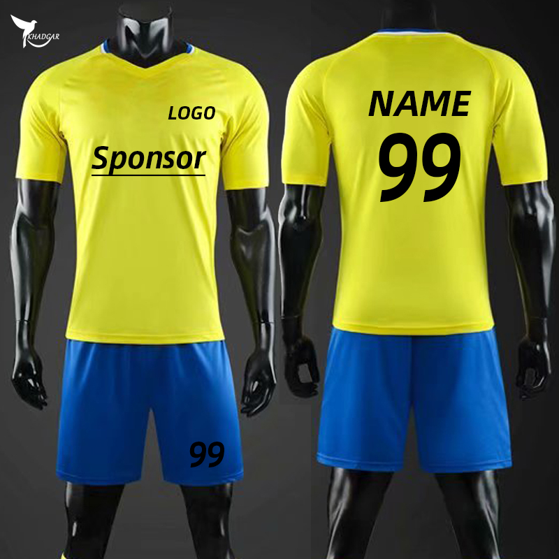 2019/20 Customize Kids & Adult Jersey+Shorts Soccer Uniform Men Women Child Football Training Suit Team Sport Futsal Running Set