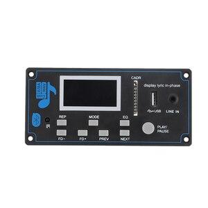 Image 3 - DC 9 12V samochód MP3 AudioDecoder pokładzie bluetooth USB SD FM AUX dekodowanie plików WMA MP3 moduł DIY głośnik Amp domu teatr