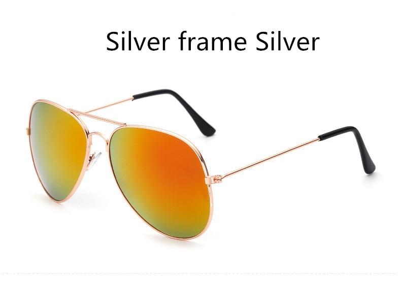 ASUOP2018 new ladies retro cat eye sunglasses luxury brand fashion men's pilot glasses UV400 night vision goggles night vision goggles (16)
