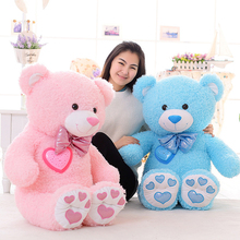 Colorful glow teddy bears, plush toys, glowing bear, led bear, creative birthday gifts VOTEE
