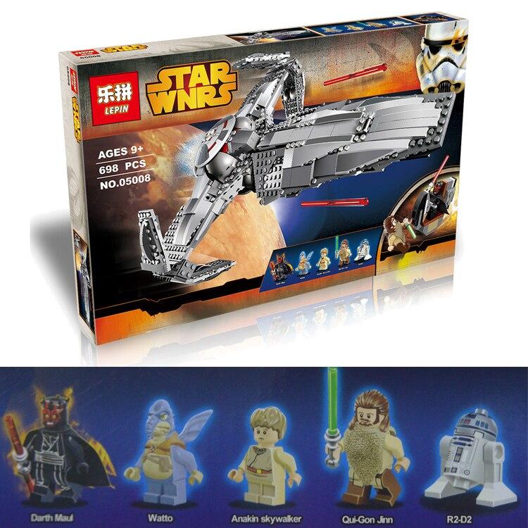 ФОТО LEPIN STAR WARS The Force Awakens Sith Infiltrator Spaceship War Building Bricks Blocks Set Starwars Chrismas Toys