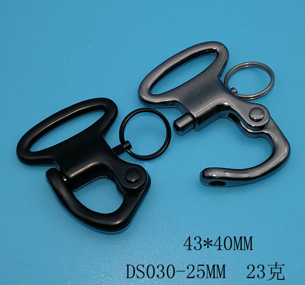 Free Shipping Custom 1 25mm Inner Width QuickTactical Buckle Snap Hook Ring 50 Pieces For Horse
