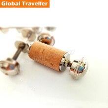 1 piece Flute mouthpiece stopper copper plug flute cork  accessories