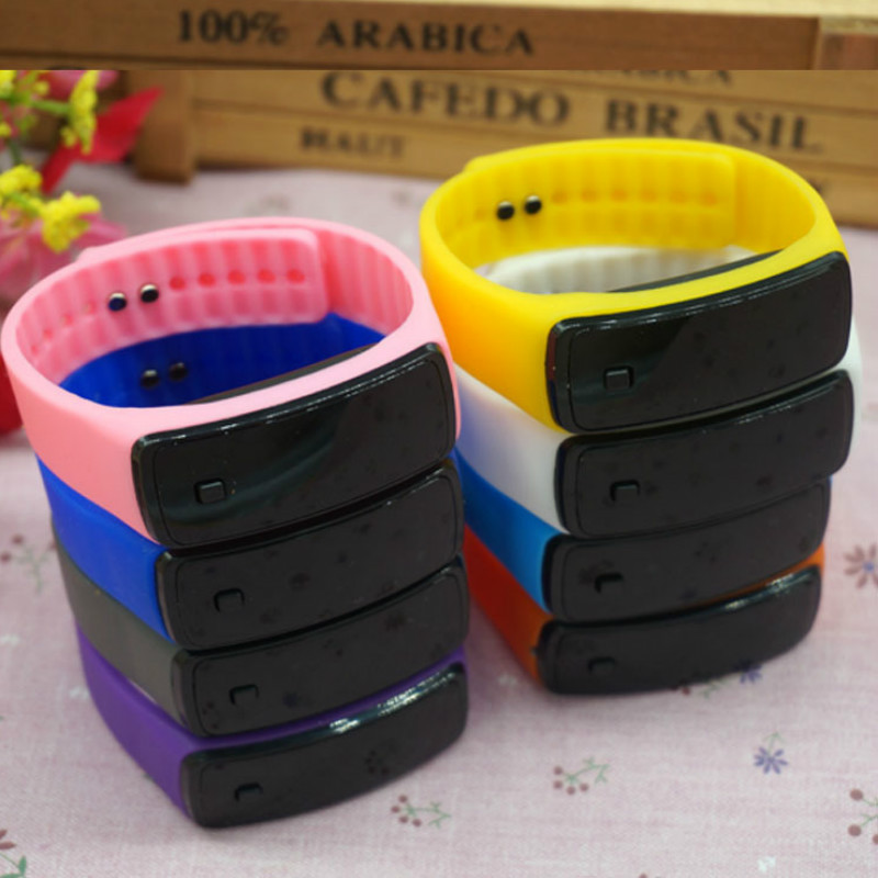 Generation Bracelet Led Silicone Watch Fashionable Sports Sunglasses Led Children Watch Male And Female Students Second
