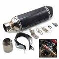 carbon fiber Motorcycle Muffler exhaust pipe AKRAPOVIC for YAMAHA YZF R125 2012-2013 ktm 690 smc 390