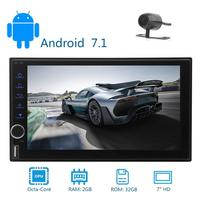 Android 7 1 Double Din Car Styling In Dash Car Stereo Radio GPS Navigation Support 3G