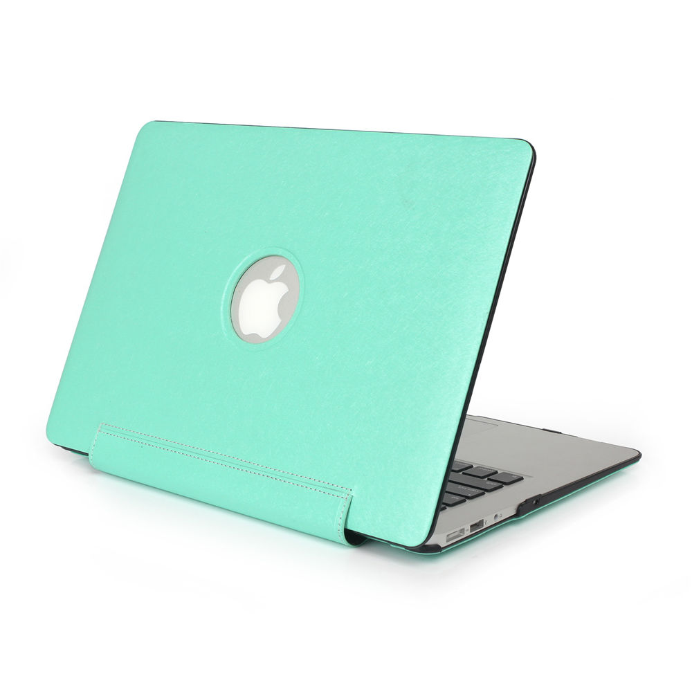 "Fashion pu leather surface laptop Case For apple mac Air 11"" 13"" Pro 13"" retina 13 Hard Cover Case For macbook"