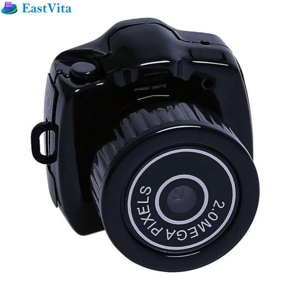 EastVita Y2000 Mini Macchina Fotografica Videocamera vendita Micro DVR Camcorder 480 P Portatile Webcam Video Voice Recorder Fotocamera Con La Catena Chiave