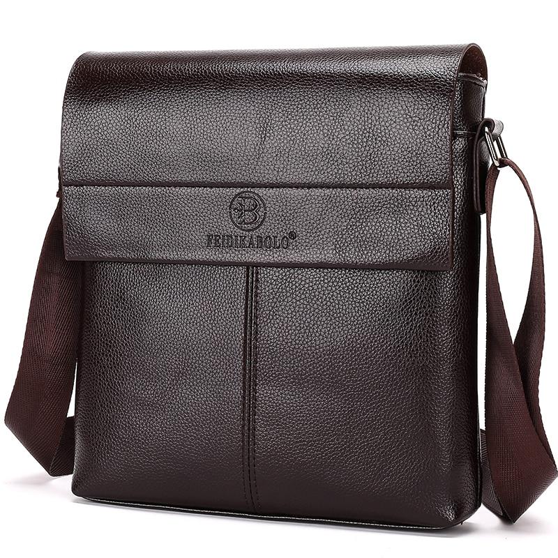 Neue Kollektion 2018 Mode Männer Taschen, Männer Casual Leder Umhängetasche, hochwertige Mann Marke Business Bag Herrenhandtasche