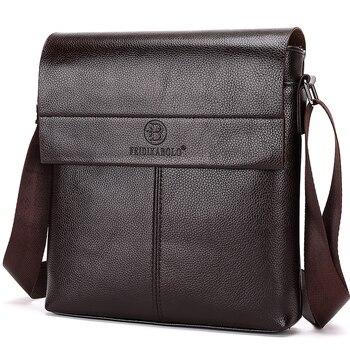New collection 2018 fashion men bags, men casual leather messenger bag, high quality man brand business bag men's handbag