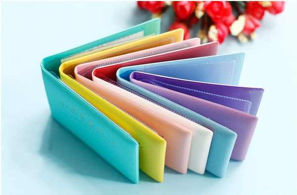 Candy Color Auto Driver License Bag PU Leather on Cover for Car Driving Documents Card Holder Purse Wallet Case