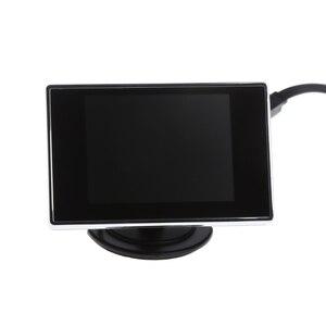 "Image 4 - 3.5 ""Mini TFT LCD Kleurenmonitor Scherm DVD VCD Voor Auto Achteruitrijcamera Backup Camera"