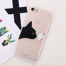 Cute Cat Phone Case For iPhone