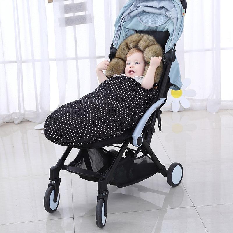 New Winter Autumn Baby Sleeping Bag Warm Stroller Sleepsacks Robe For Infant wheelchair Waterproof Footmuff Newborn 36month in Sleepsacks from Mother Kids